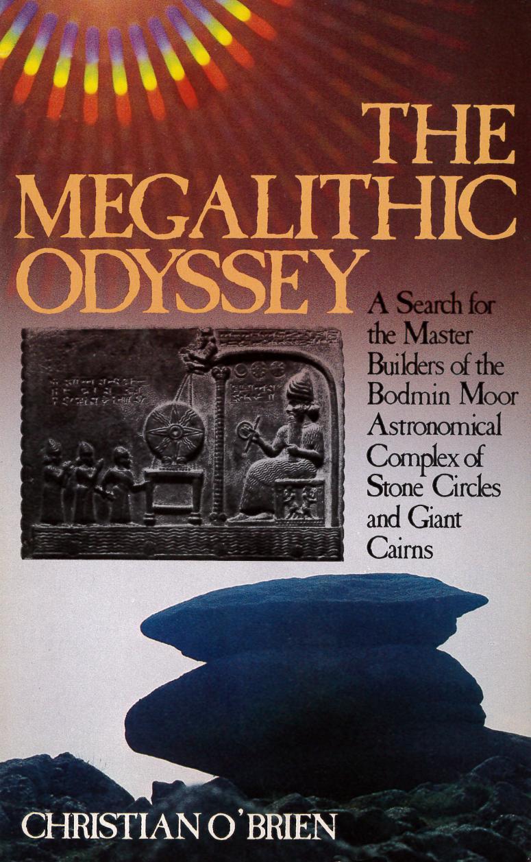 Megalithic Odyssey  - Christian O'Brien - E-BOOK